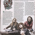 Interview on Rock Hard Italy (April 2013)